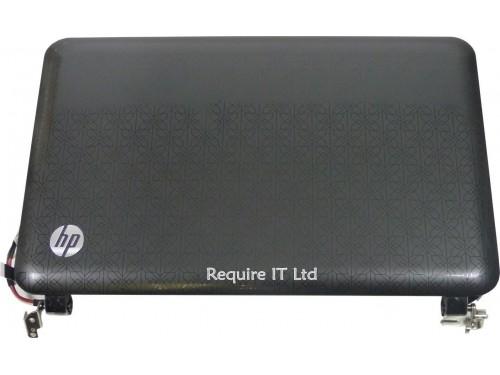 NEW COMPLETE 10.1 TOP HALF AG FLUSH GLASS FOR COMPAQ HP MINI 210-1105TU NETBOOK