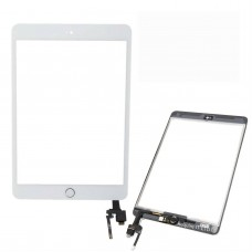 For Apple iPad Mini 3 A1599 A1600 Touch Screen Digitizer Glass - SILVER