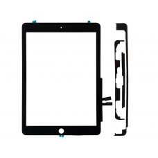 BLACK DIGITIZER FRONT GLASS FOR IPAD 6 6TH GEN 9.7 2018 A1893 A1954 A1953
