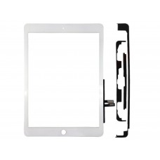 "NEW WHITE DIGITIZER FOR APPLE IPAD 9.7"" 2018 6TH A1954 A1953 A1893 WITH TAPE"